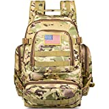 NOOLA Military Tactical Backpacks Large Army Assault Pack Molle Bag Rucksacks CP