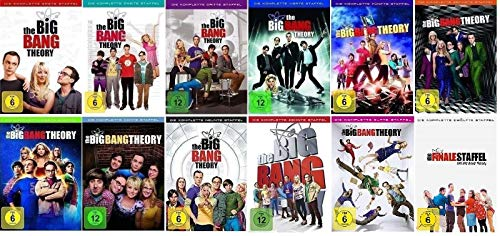 Cover The Big Bang Theory Staffel 1-12 Die komplette Serie (1+2+3+4+5+6+7+8+9+10+11+12, 1 bis 12) [DVD Set]