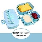Zoom IMG-1 2 contenitore separato lunch box