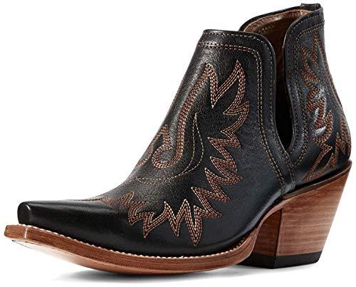 ARIAT womens Dixon Western Boot, Brooklyn Black, 8 US