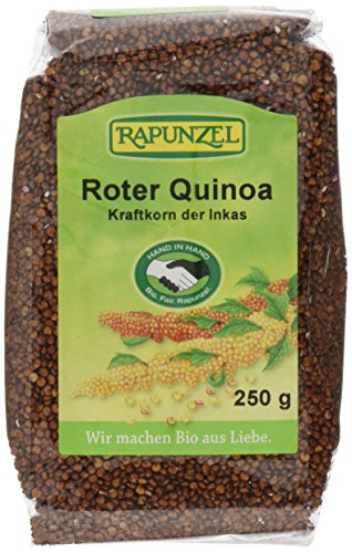 Rapunzel Quinoa rot HIH, 4er Pack (4 x 250 g) - Bio