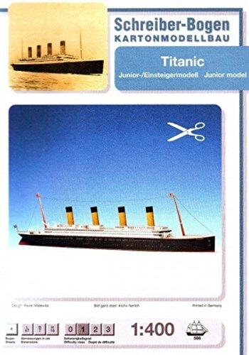 Aue-Verlag 67 x 7 x 16 cm Modellbausatz Titanic Junior