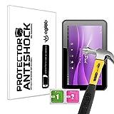 Protector de Pantalla Anti-Shock Anti-Golpe Anti-arañazos Compatible con Tablet Leotec L-Pad Meteor DCX 9