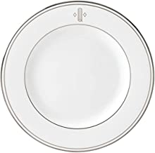 Lenox Federal Platinum Block Monogram Dinnerware Salad Plate, Q