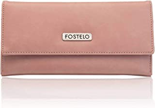 Fostelo Light Pink Satin Women's Wallet (cw-aleg)
