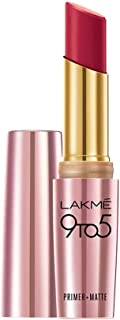 LAKME 9 To 5 Primer With Matte Lip Color, Mr11, 3.6G
