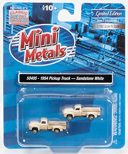 Mini Metals - 1954 Ford Pickup, 1:160 Scale -  Classic Metal Works, 50405
