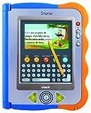 VTech Storio - Tablet educativa para niños, Incluye el Juego Rufus, Color Azul y Naranja (80-115622)