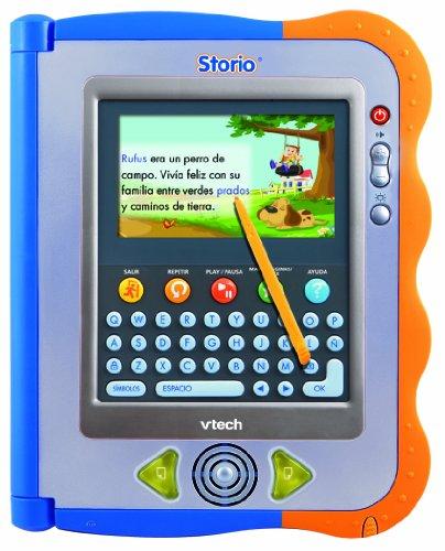 Vtech Storio–Tablet Bildungs für Kinder, mit dem Spiel Rufus 18m+ Blau und Orange
