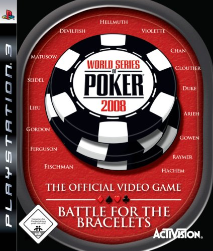 Activision  World Series of Poker 2008: Battle for the Bracelets, PlayStation 3