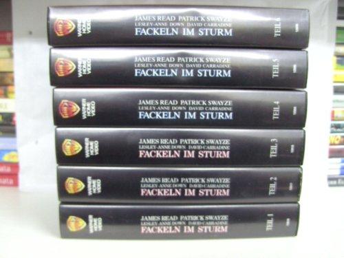 Fackeln im Sturm, Teil 1-9 [9 VHS].