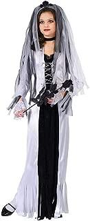 Fun World Skeleton Bride Costume, Medium 8 - 10, Multicolor