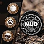 Bossman MUDstache Wax Unscented Mustache Wax - Mustach Grooming Care - Strong Hold for Taming, Training and Styling (1oz… 6