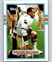 1989 Topps Football #157 Dalton Hilliard New Orleans Saints Official NFL Trading Card