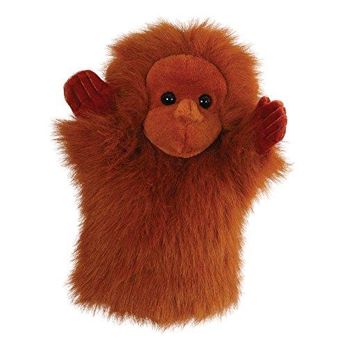 - Orangután títere de mano