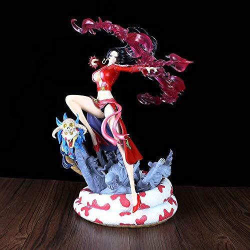 KPSHY One Piece Anime Mujer Emperador Cautivo Flecha Hancock Serpiente Princesa Figura Muñecas Decoración Versión Premium Estatua Muñeca Escultura Juguete Decoración Altura 35cm