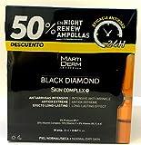 MARTIDERM BLACK DIAMOND SKIN COMPLEX 30 AMPOLLAS + 50% DTO NIGHT RENEW 10 AMPOLLAS