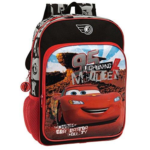 Disney Cars Set de Sac Scolaire, 40 cm, 15.6 L, Rouge 44423A1