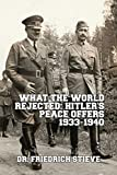 What the World Rejected: Hitler's Peace Offers 1933-1940