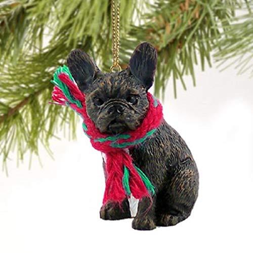 1 X French Bulldog Miniature Dog Ornament
