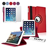 SAVFY Housse Compatible avec iPad Air 2 Housse de Protection en PU Cuir avec...