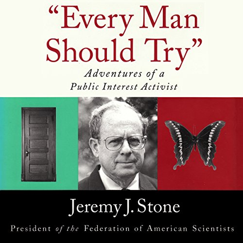 """Every Man Should Try"" audiobook cover art"