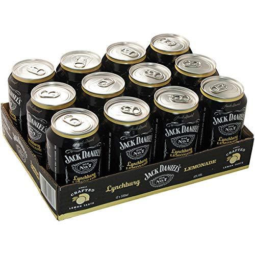 24 Dosen a Jack Daniels Daniel´s & Lynchburg Lemonade a 0,33L 10% Vol. Dose inc.6.00€ EINWEG Pfand