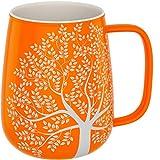 amapodo Taza de café grande de porcelana con asa, 600 ml, taza de café de cerámica, regalo para...