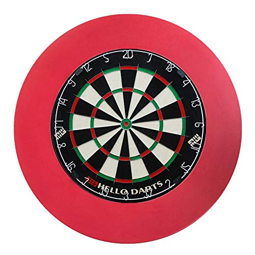 Dartbord Set, Indoor Dartbord, Met Dartbord Bescherming Ring, Geschikt Voor Kinderen Home Entertainment Volwassen
