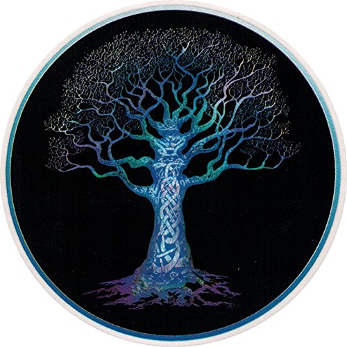 Happylife Productions Celtic Tree - Window Sticker/Decal (4.5' Circular)