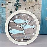 Reloj De Mesa Reloj De Escritorio Reloj Antiguo Retro PequeñO Pez Madera Despertador Reloj De Mesa Reloj De Mesa Reloj De Mesa Rural