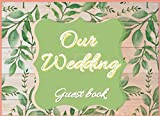 Our Wedding Guest Book: rustic, vintage, sunflower and wooden album