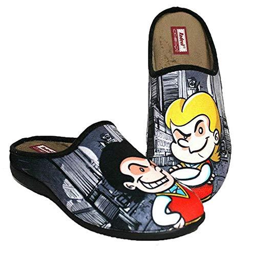Zapatillas cómodas Andar por casa inspiradas en Zipi y Zape (Numeric_36)
