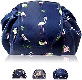 Makeup Organiser, Home-Mart Portable Lazy Drawstring Makeup Bag Travel Cosmetic Bag Pouch Toiletry Organizer Waterproof La...