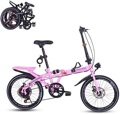 16 pulgadas plegable bicicleta urbana mini bicicleta plegable plegable dentro de marco aerodinámico hombres mujeres plegable bicicleta al aire libre Bicicleta-polvo