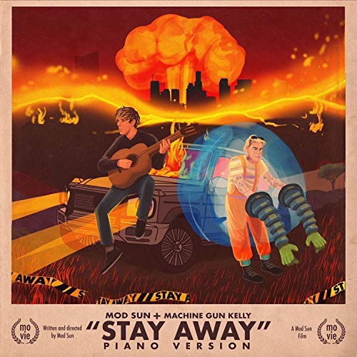 Stay Away (Piano Version) [feat. Machine Gun Kelly] [Explicit]