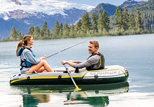 Intex Seahawk 2, 2-Person Inflatable Boat Set