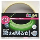 エルティーアイ(LTI) アルファフラッシュ 高輝度蓄光テープ(幅10mm×1m)