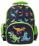 Fringoo - Zaino per bambini | Ideato per bambini piccoli e per i più piccini | Perfetto per l'asilo o la scuola | Lavabile in lavatrice - Pattinatori dinosauro