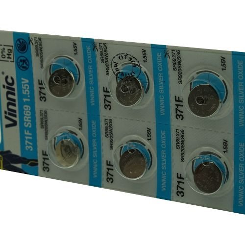 Otech Pack de 10 Piles Vinnic 4898338000801