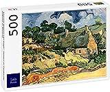 Lais Puzzle Vincent Willem Van Gogh - Casas de Campo en Cordeville (Casas en Auvers) 500 Piezas