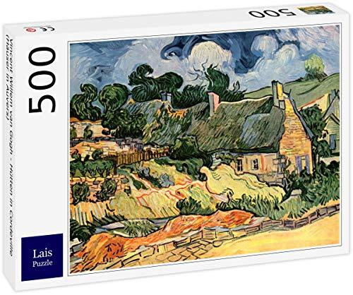 Lais Puzzle Vincent Willem Van Gogh - Casas en Cordeville (Casas en Auvers) 500 Piezas