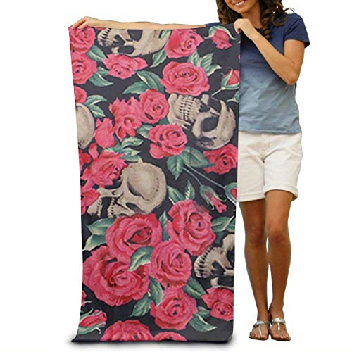 Gebrb Toallas de baño,Toalla de Playa,Manta de Playa Bath Towel Beach Towel Comfortable Quick Drying Bath Towels for Home Bathroom Pool and Gym 31x51 Inches