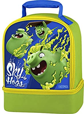 Thermos Dual Lunch Kit, Angry Birds/Sky Hogs