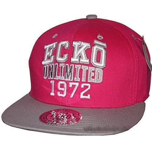 Ecko Unlimited 1972 Snapback Gorras, Retro Bling Flat Peak Ajustado Baseball Unisex Sombreros