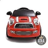 ATAA CARS Mini UNO 6V- Voiture électrique pour Enfants avec télécommande Pas Cher - Rouge