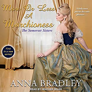 More or Less a Marchioness audiobook cover art