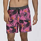 Hurley M Party Pack Volley 18' Bañador, Hombre, Lotus Pink, S
