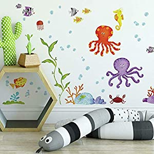 RoomMates RMK1851SCS Adventures Under The Sea Peel...