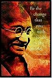 TPCK Mahatma Gandhi Kunstdruck (mit signierter Autogramm